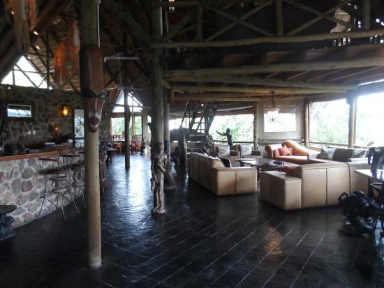 Muchenje Safari Lodge : Reception / Bar Area