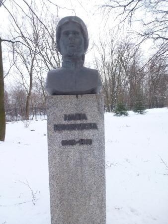 Jedlicze, Polska: Popiersie Marii Konopnickiej