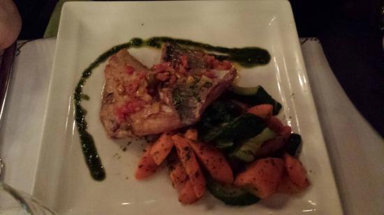 Les Jardins de Saint-Germain: Fish and vegetables