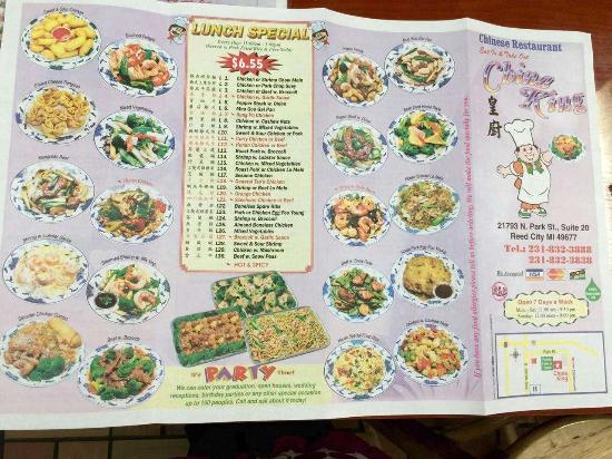 China King Reed City Restaurant Reviews Photos Phone Number Tripadvisor