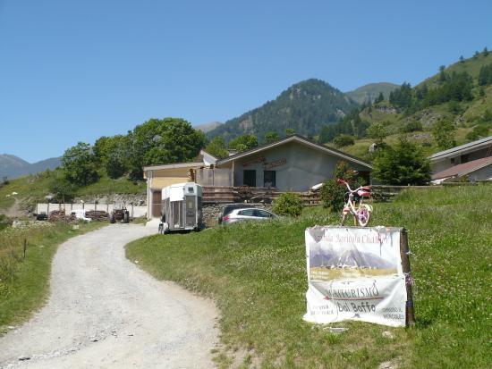 Usseaux, Italie : Vista d'insieme