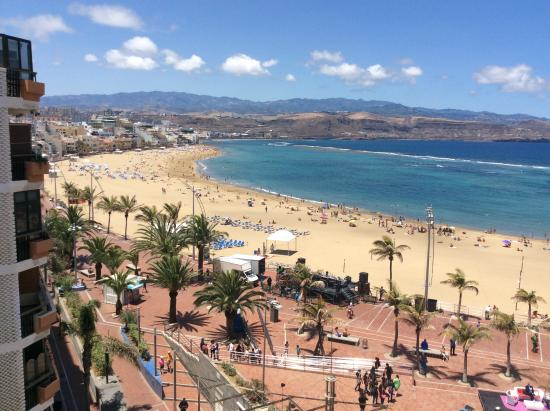 Hotel RK Aloe Canteras: Loved the view