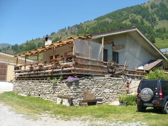 Usseaux, Italie: La terrazza