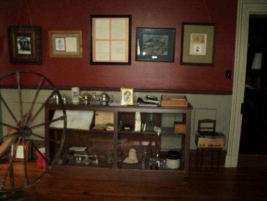 New Market, VA: The Museum room