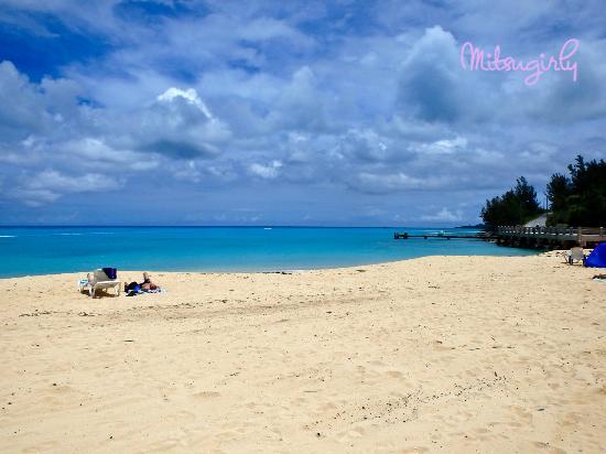 St. Catherine's Beach: The beach