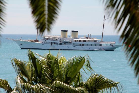 Tiercé Beach Hôtel : Belle vue sur la mer