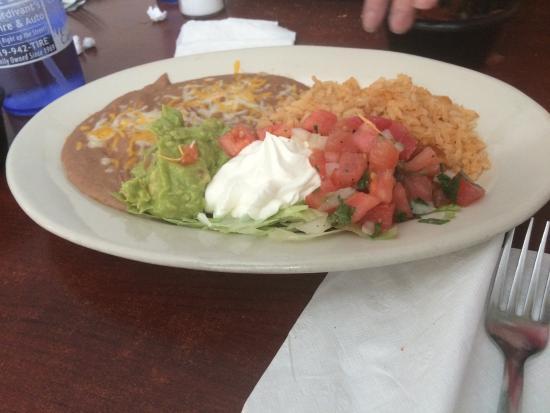 Fiesta Grill : Beef fajitas, best fajitas in the U.S.