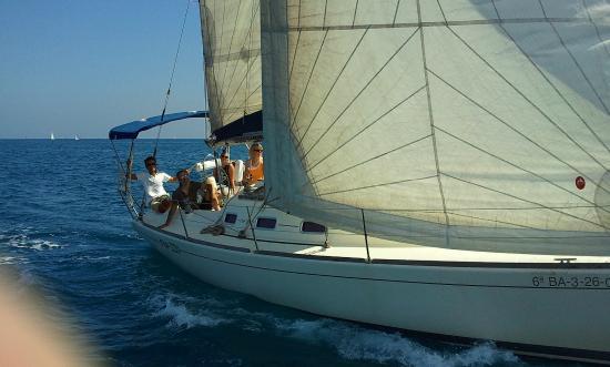 Sail In Barcelona