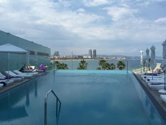 Infinity Pool Bild Von W Barcelona Barcelona Tripadvisor
