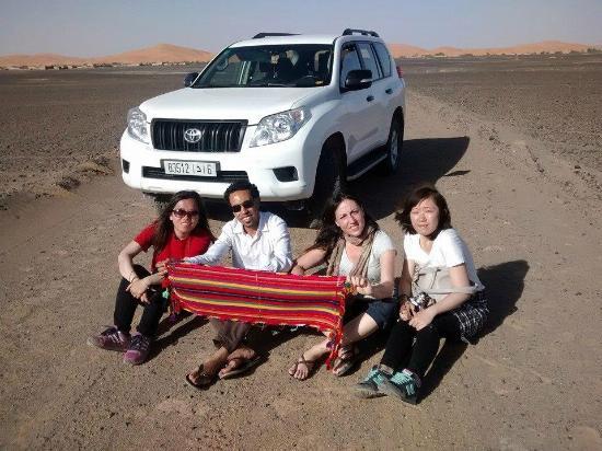 驼背沙漠之旅