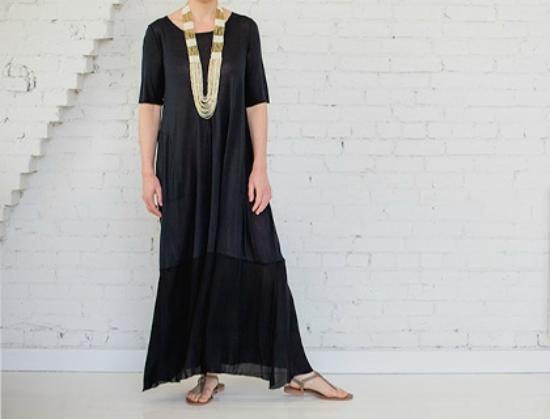fourTWELVE: A Line dress by Raquel Allegra.