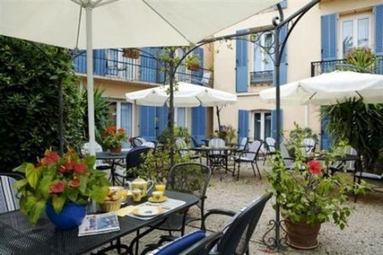 Hotel Olivier: Terrace