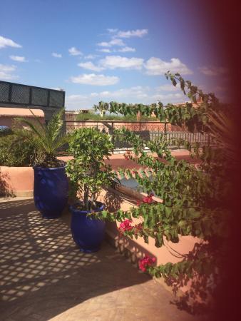 Riad Sekkat: La terrasse du Riad