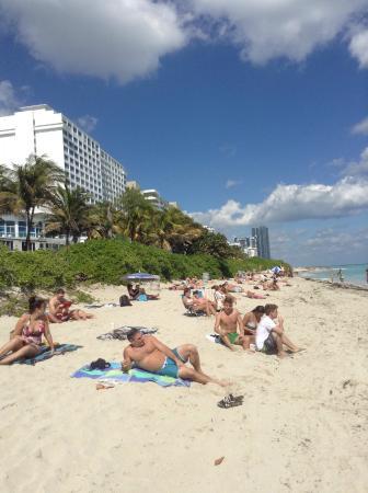 New Point Miami Beach Apartments Vista Del Hotel Desde La Playa