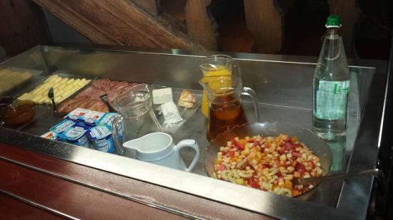 """Le Biblenhof : buffet """"froid"""" petit déjeuné"""