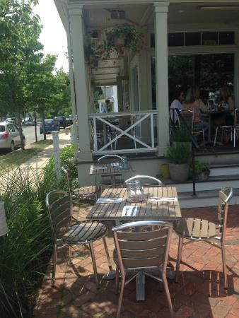 First and South: Outdoor Seating