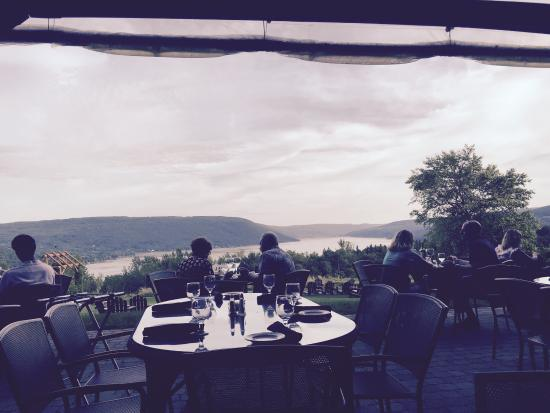 Bristol Harbour's Lodge Restaurant: A beautiful view from the Restaurant !