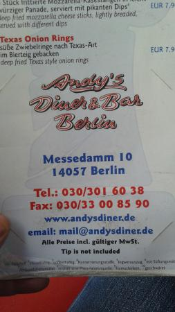 Andy's Diner & Bar