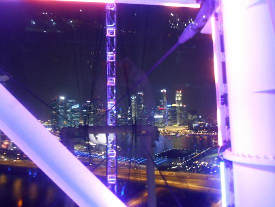 Sky Dining in Singapore Flyer - GreenHoliday: View from the table