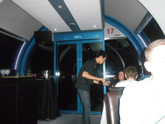 Sky Dining in Singapore Flyer - GreenHoliday: View of the pod