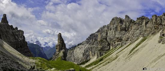 Parco Regionale delle Dolomiti Friulane : Il Campanile di Val Montanaia
