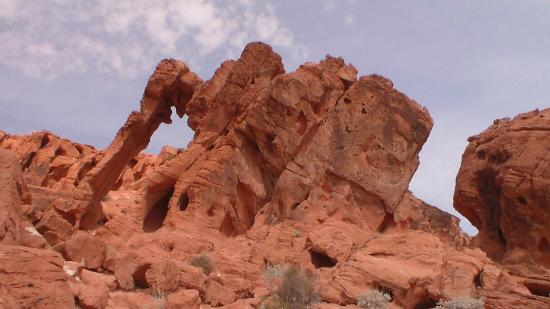 Mouse's Tank: Elephant Rock at Valley of Fire.