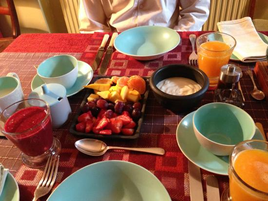 Number 15 Bed and Breakfast: Breakfast - the first course!