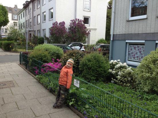 Haus Bremen Garni: сам район, где отель расположен
