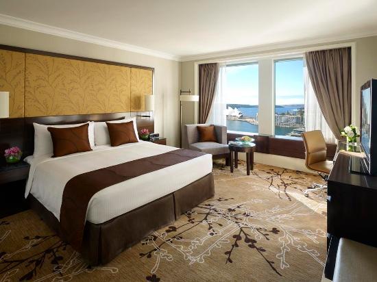 Shangri-La Hotel Sydney: Deluxe Opera House City View Room