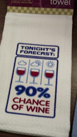Countryside Vineyards & Winery: Cute hand towels in the gift shop.