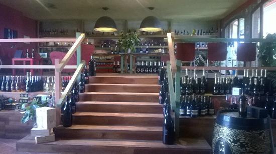 Buonamico Tenuta : Inside winery