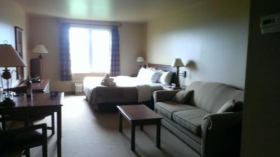Comfort Inn & Suites: King room