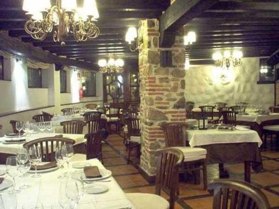 Hotel Spa Villa de Mogarraz: Restaurant