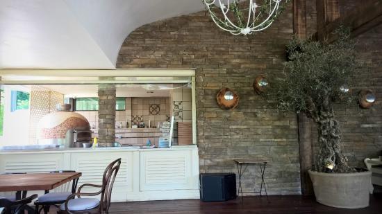Horizont Restaurant: интерьер