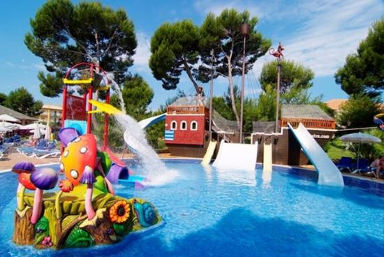 Malsplash pool bild von viva mallorca spa ca 39 n for Hoteles en benidorm con piscina climatizada