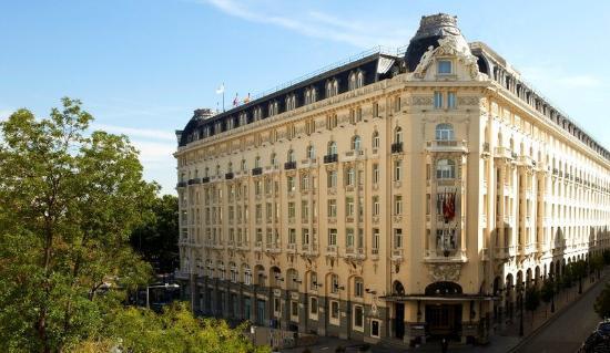 The Westin Palace Madrid: Exterior Entrance Daylight
