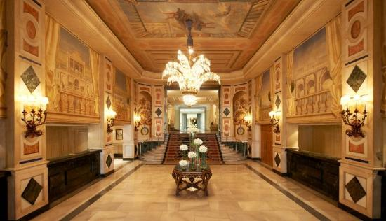 The Westin Palace Madrid: Reception Area