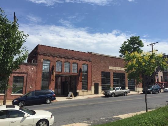 York County History Center: Museum entrance. Parking is directly across the street and free!