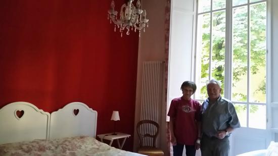 casa ilaria : Inside one of the cozy bedrooms