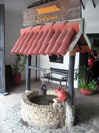 La Casona : Entrada restaurante