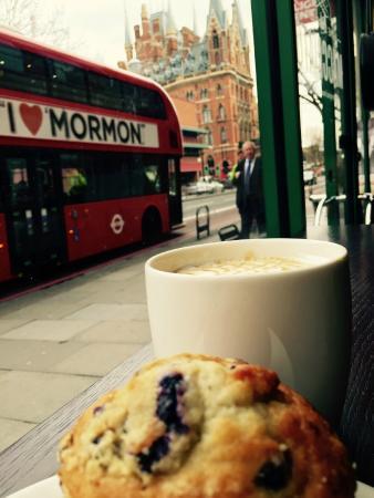 Starbucks Euston Road: Mi desayuno en Starbucks