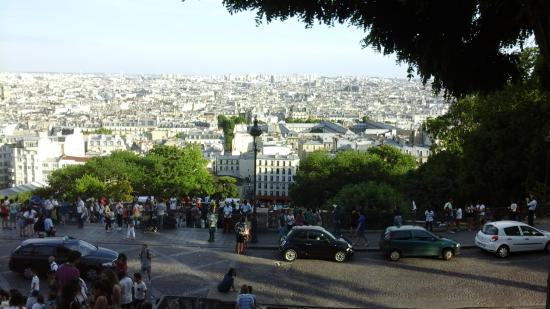The Spirit of Montmartre Walking Tour: The view of Paris from the second highest vantage point in the city