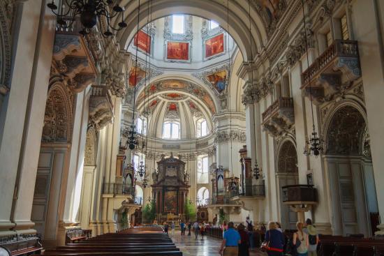 Inside salzburg cathedral picture of hotel goldener for Designer hotel salzburg