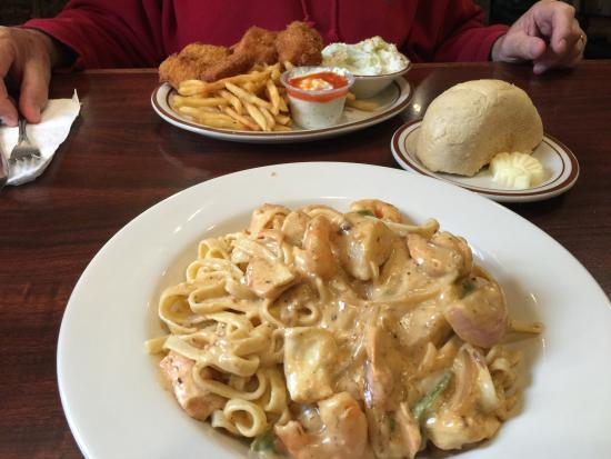 Louie's Steak & Seafood: Our LUNCH