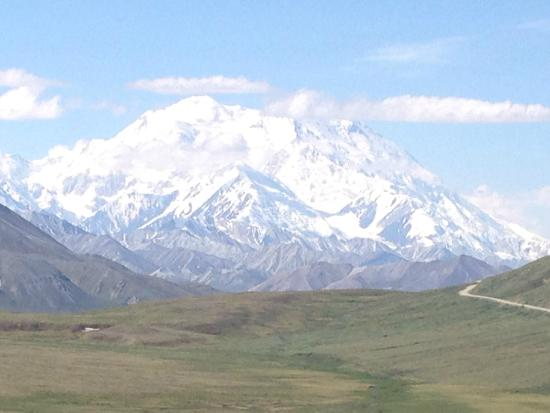 The North Face of Denali (Mt. McKinley) - Picture of Alaska Tour and on