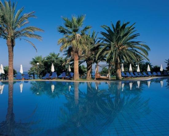 Azia Resort & Spa : Pool view