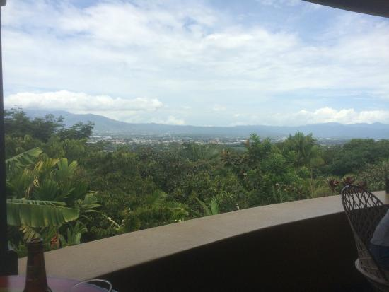Alajuela, Costa Rica: view from dining area