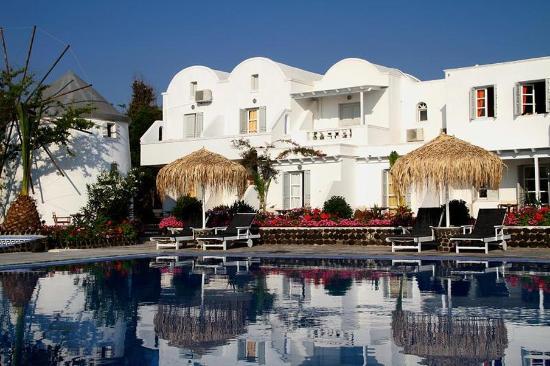 Mediterranean Beach Palace: Exterior view
