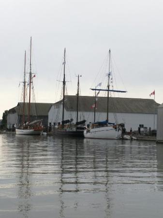 Britannia Shipyards National Historic Site : First ship to shore boats arrive in  Steveston today.