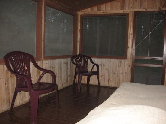 Timber Lost Resort: Porch area